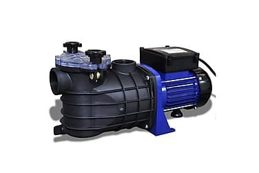 Poolpump elektrisk 500W blå