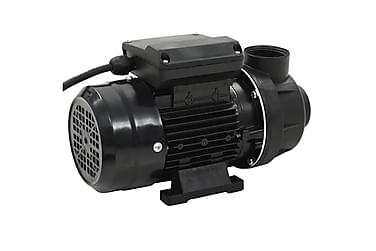 Poolpump svart 0,25 HK 7500 L/tim