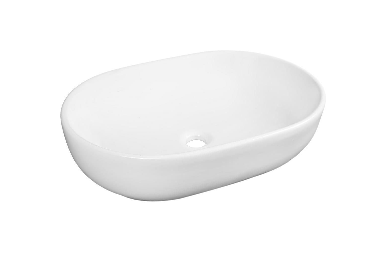 CLEAR Pesuallas Ovaali 58 Valkoinen