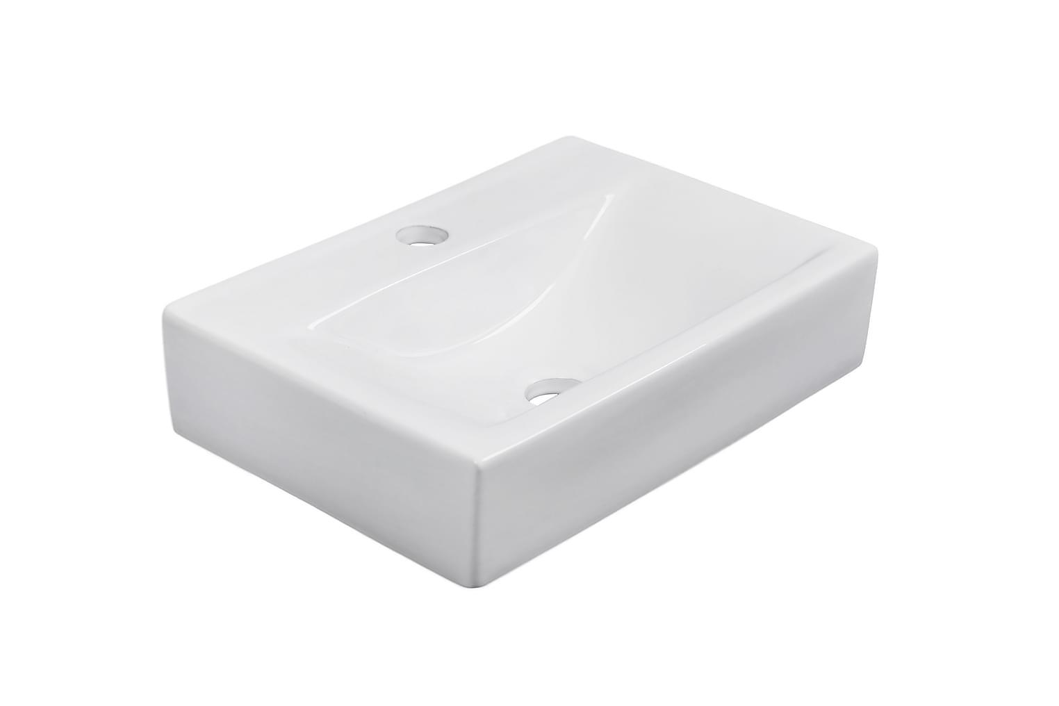 CLEAR Pesuallas Suorakulmainen 45 Valkoinen