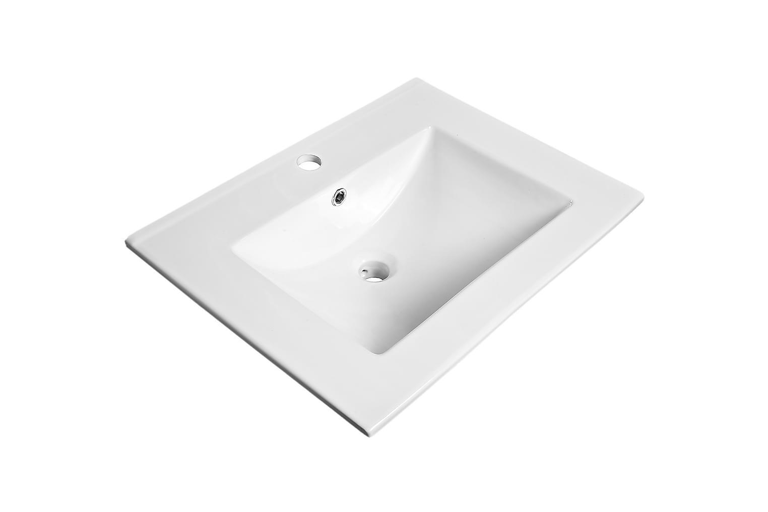 CLEAR Pesuallas Suorakulmainen 61x46 Valkoinen