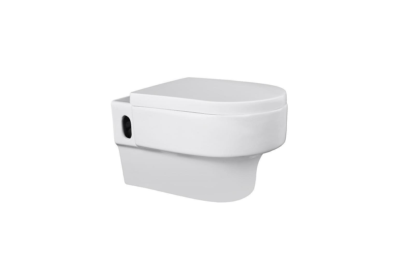 ALMVIK Yoko Seinäkiinnitteinen WC-istuin