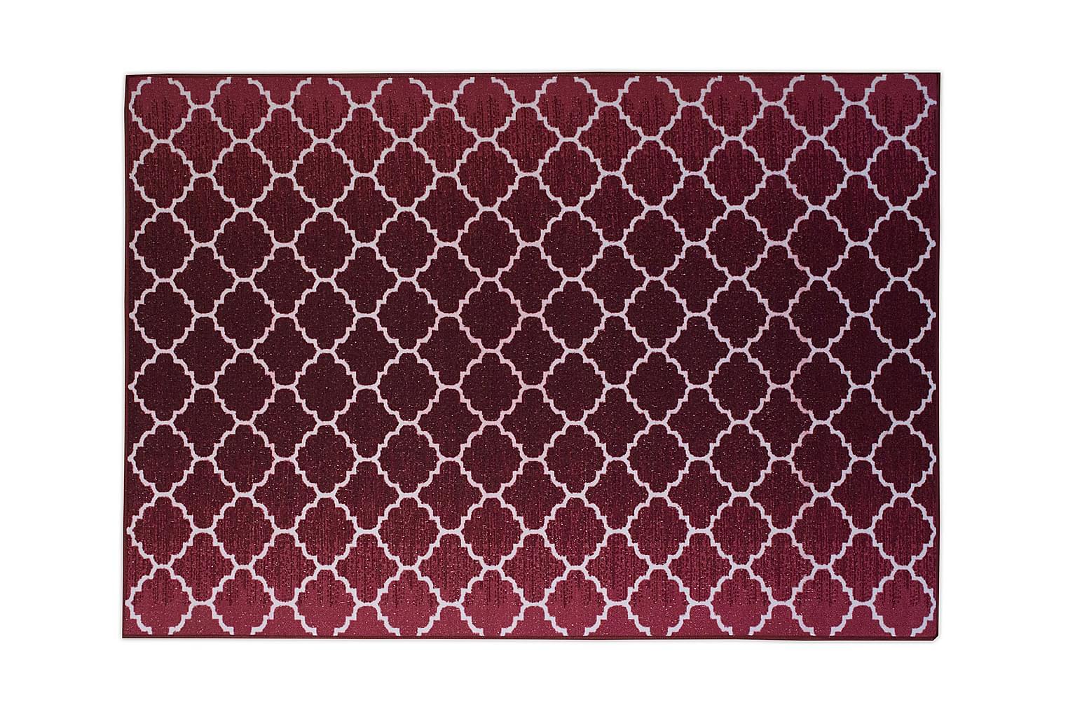 IPANEMA Kumipinnoitettu Matto 133x190 Punainen