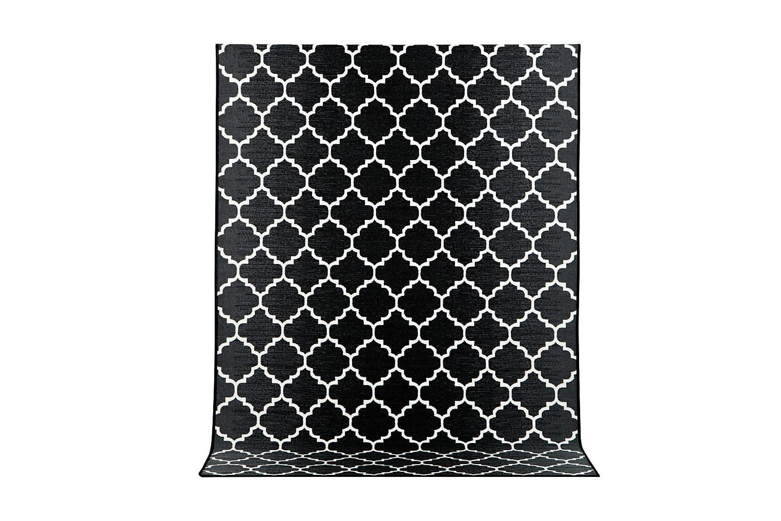 IPANEMA Kumitettu matto 80x250 Musta