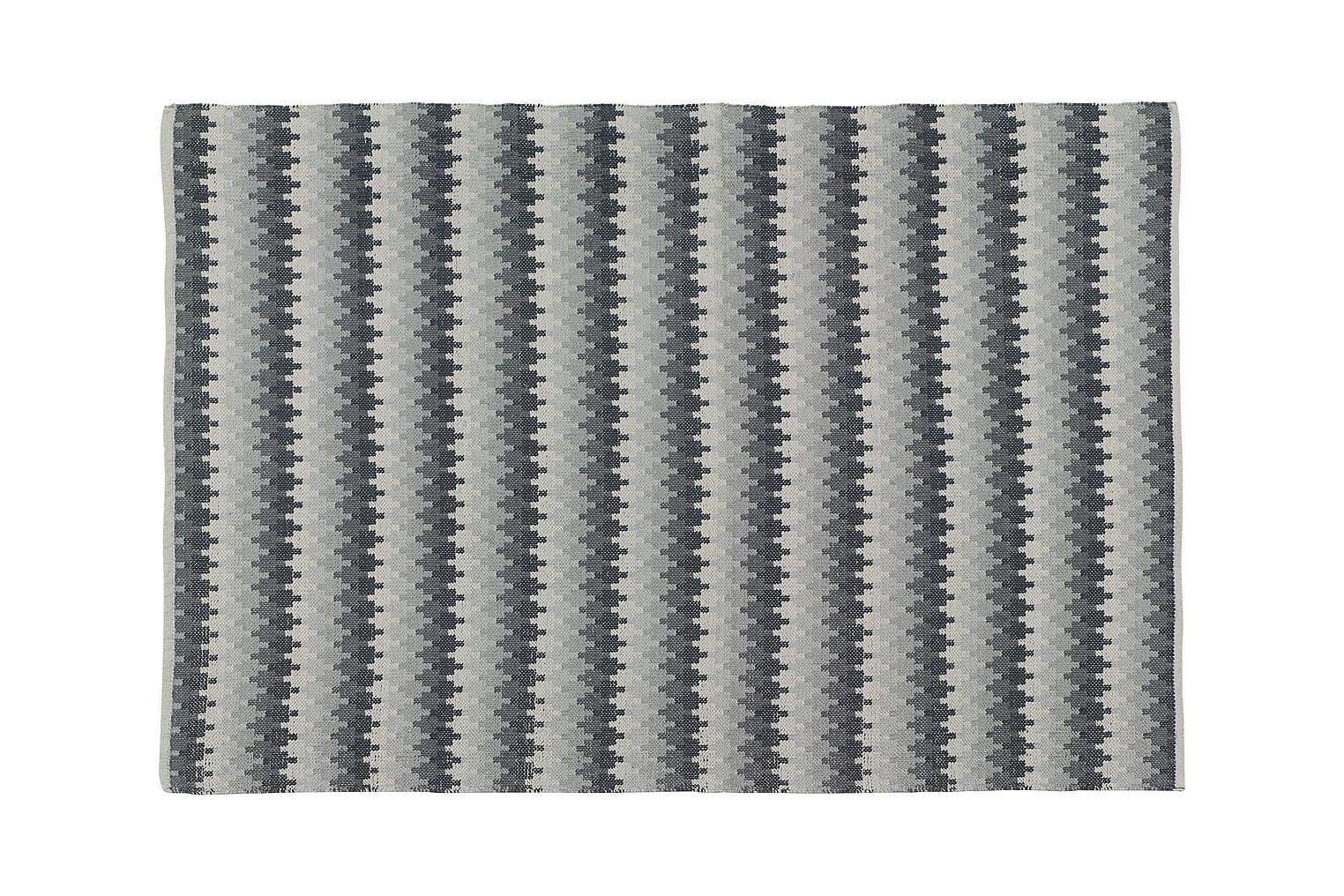 ETHNO Puuvillamatto 140x200 Graniitti