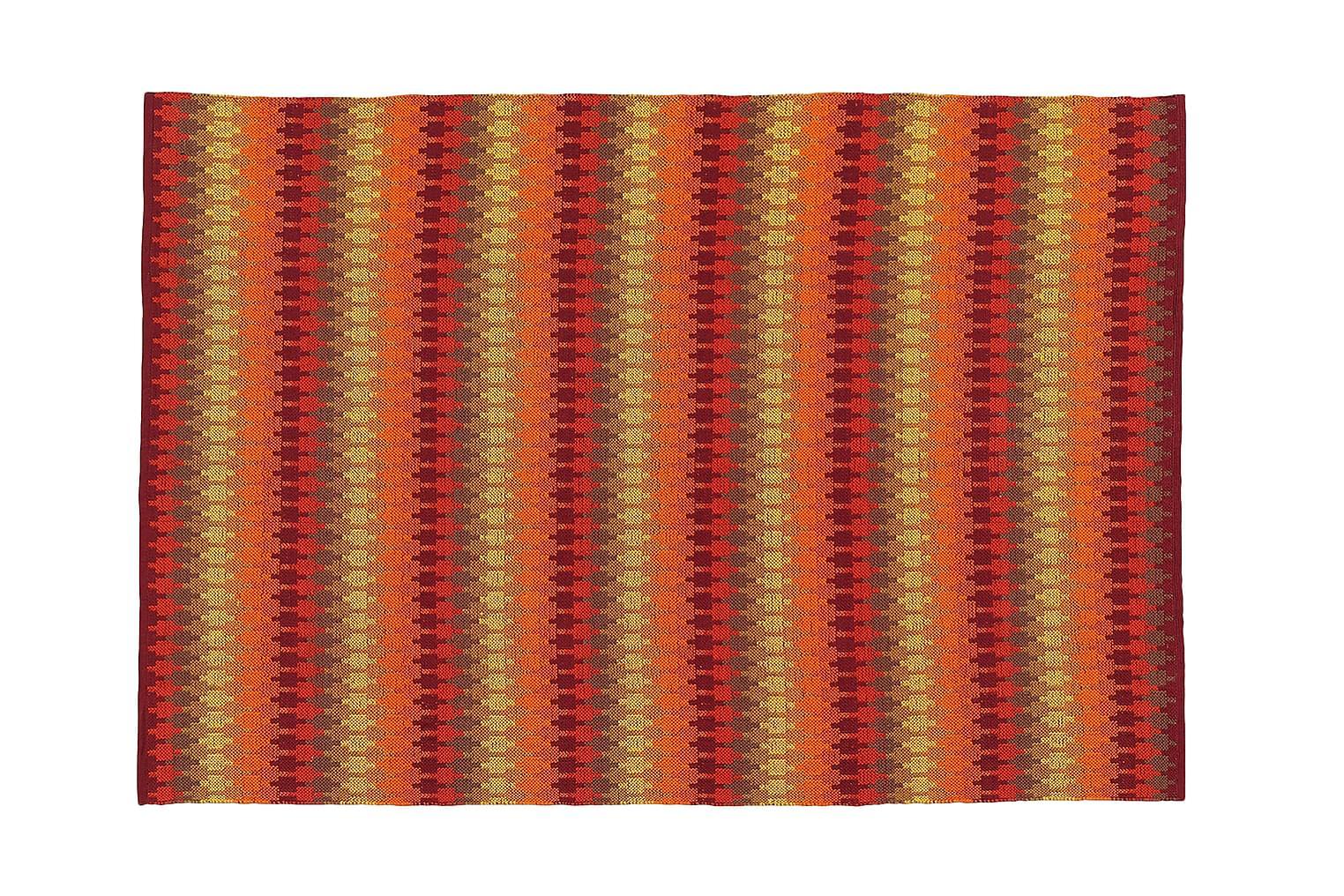 ETHNO Puuvillamatto 140x200 Oranssi