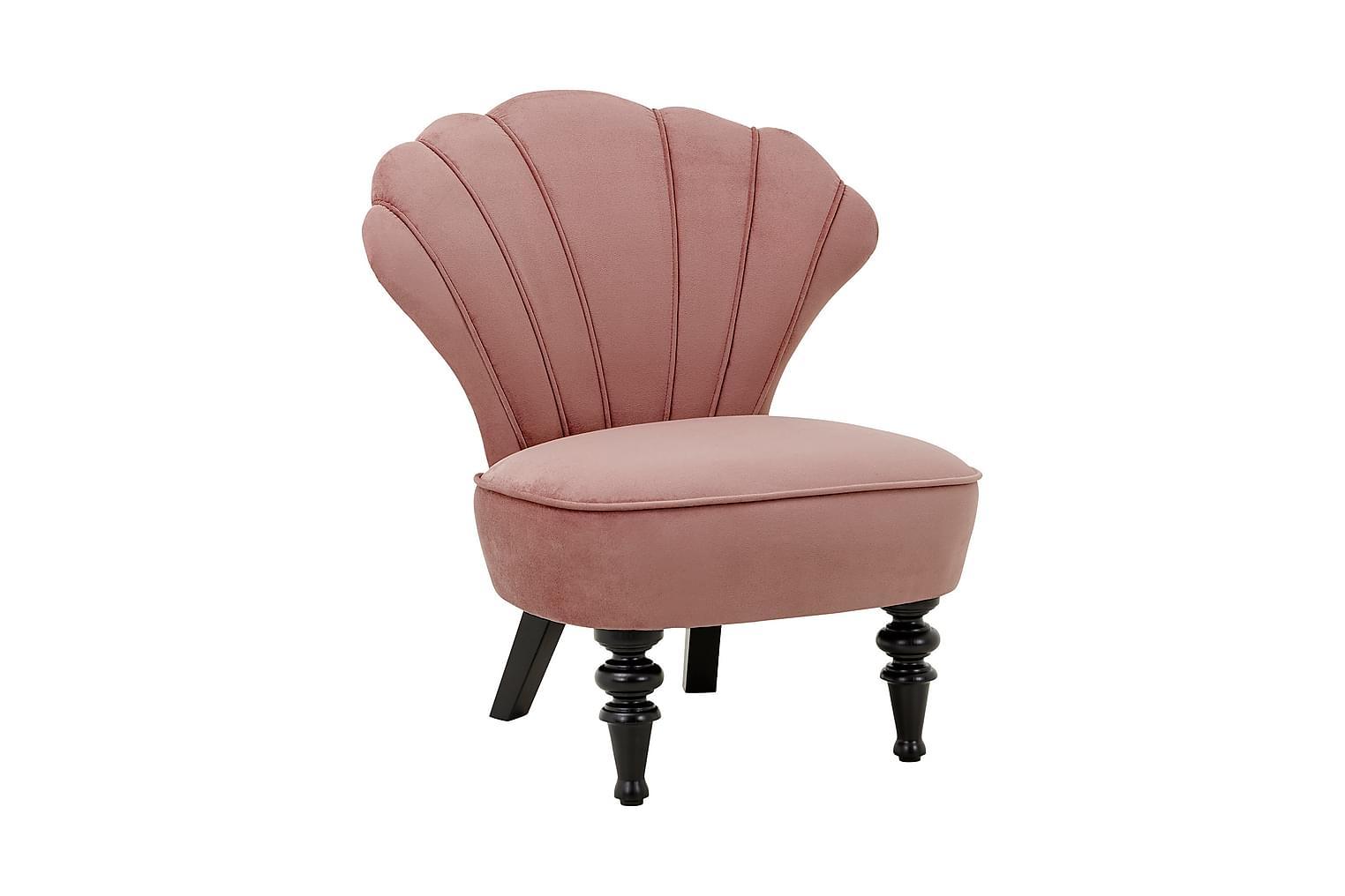 DORA Nojatuoli Vanhanajan vaaleanpunainen