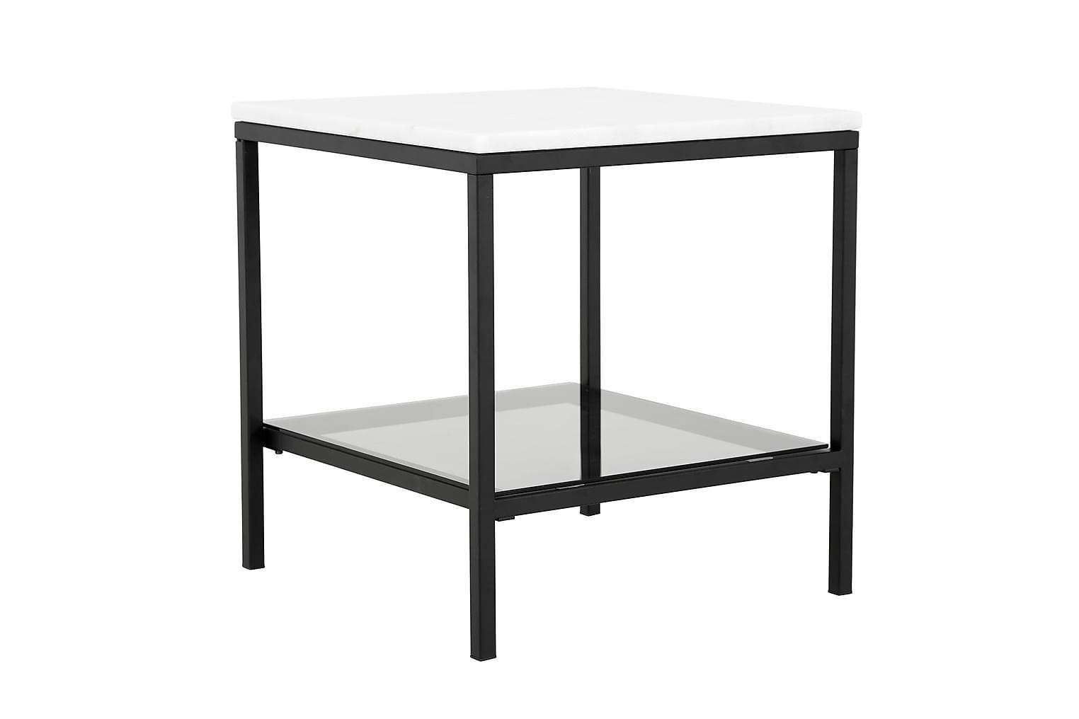 CLARISSA Sivupöytä 50 Musta/Harmaa