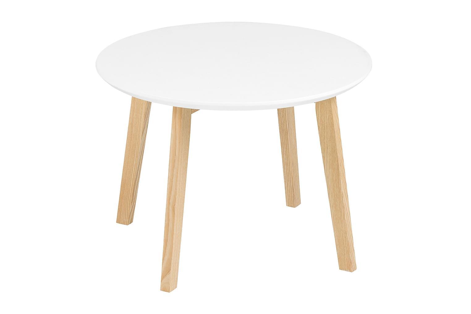 ISPANI Sivupöytä 50 Valkoinen