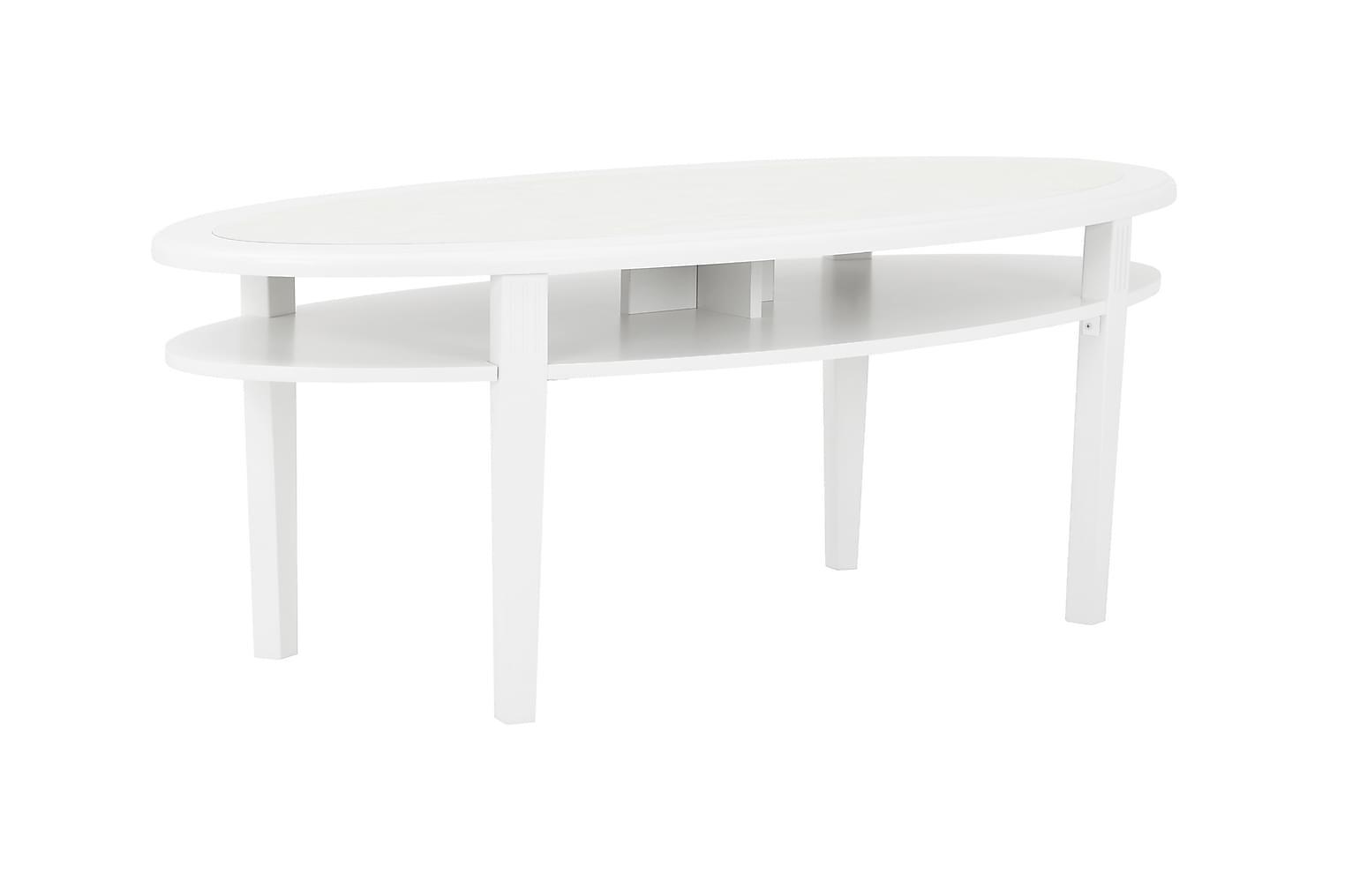 COLLEEN Sohvapöytä 135 Valkoinen
