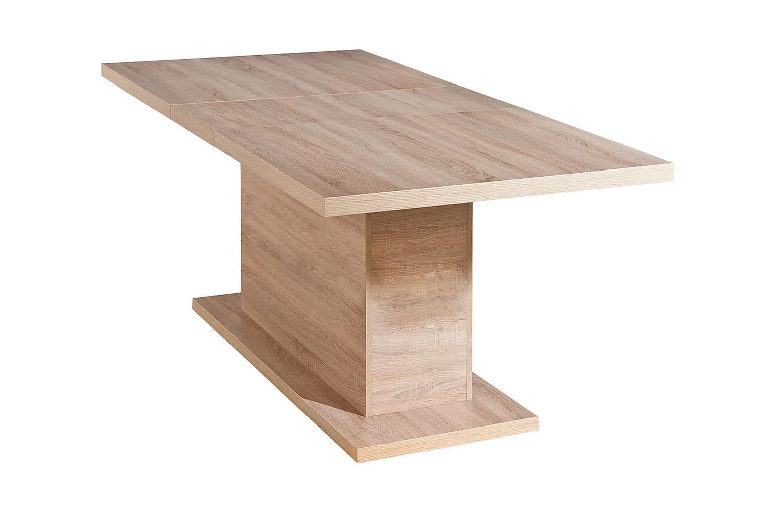ABSOLUTO Jatkettava Pöytä 160 Vaalea tammi