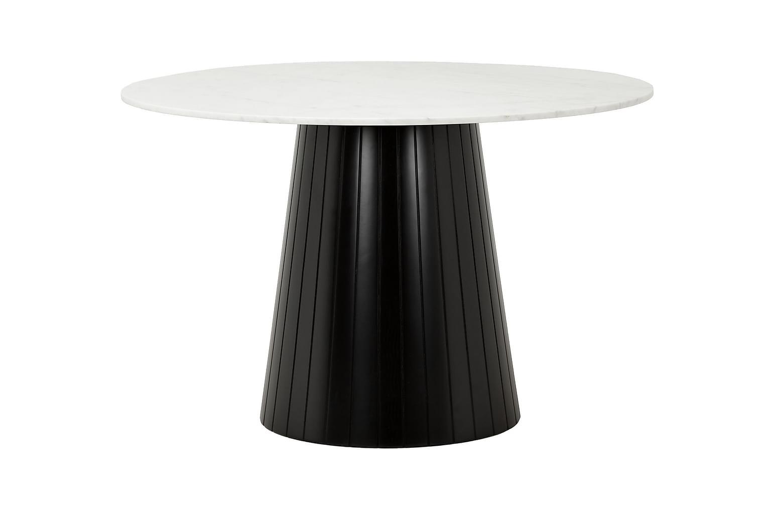 AVIO Pöytä 120 Valkoinen/Musta