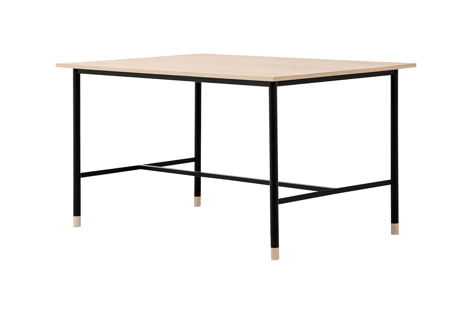 BRANDY Pöytä 138 Tammi/Musta