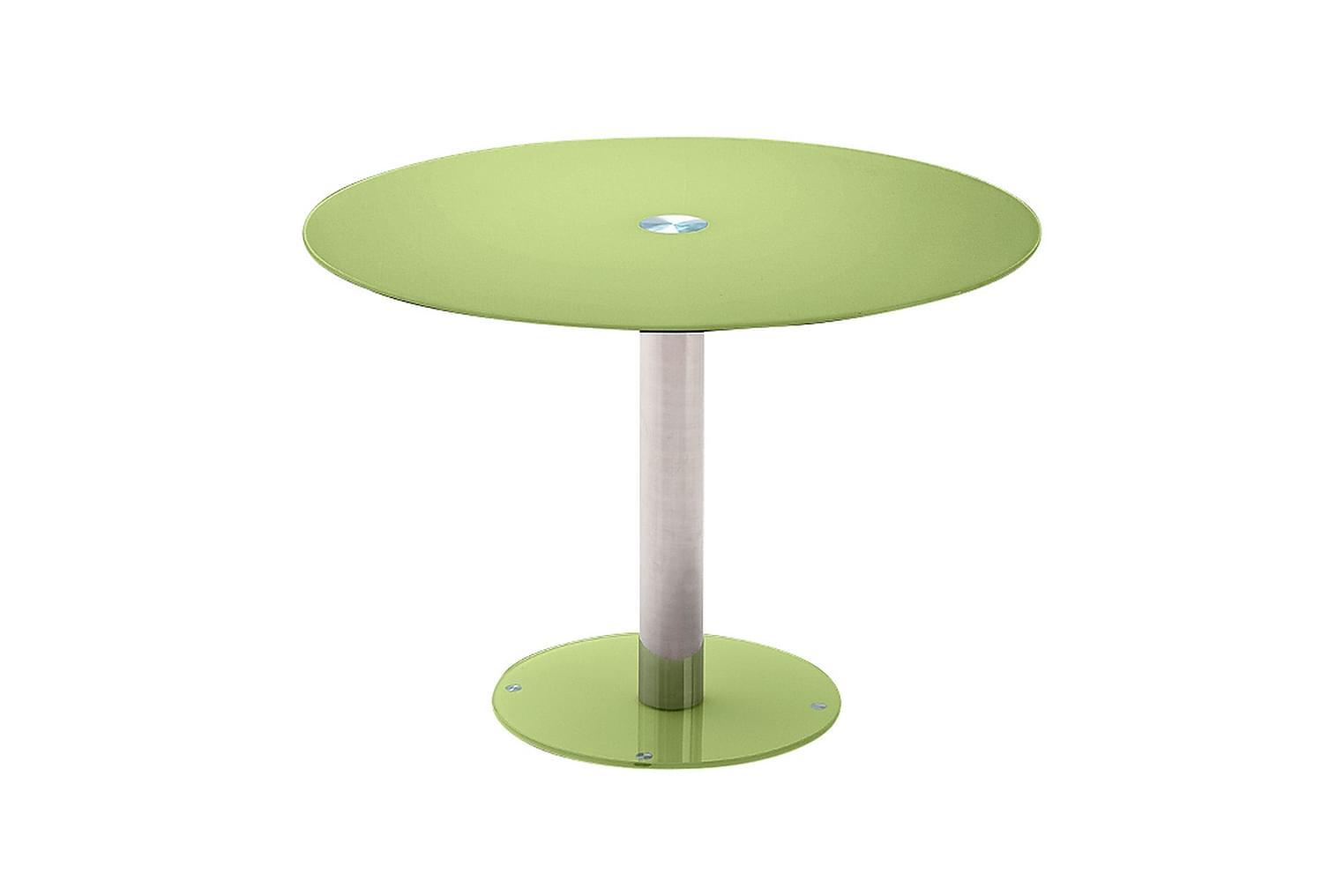 FALKO Pöytä 100 Vihreä/Lasi
