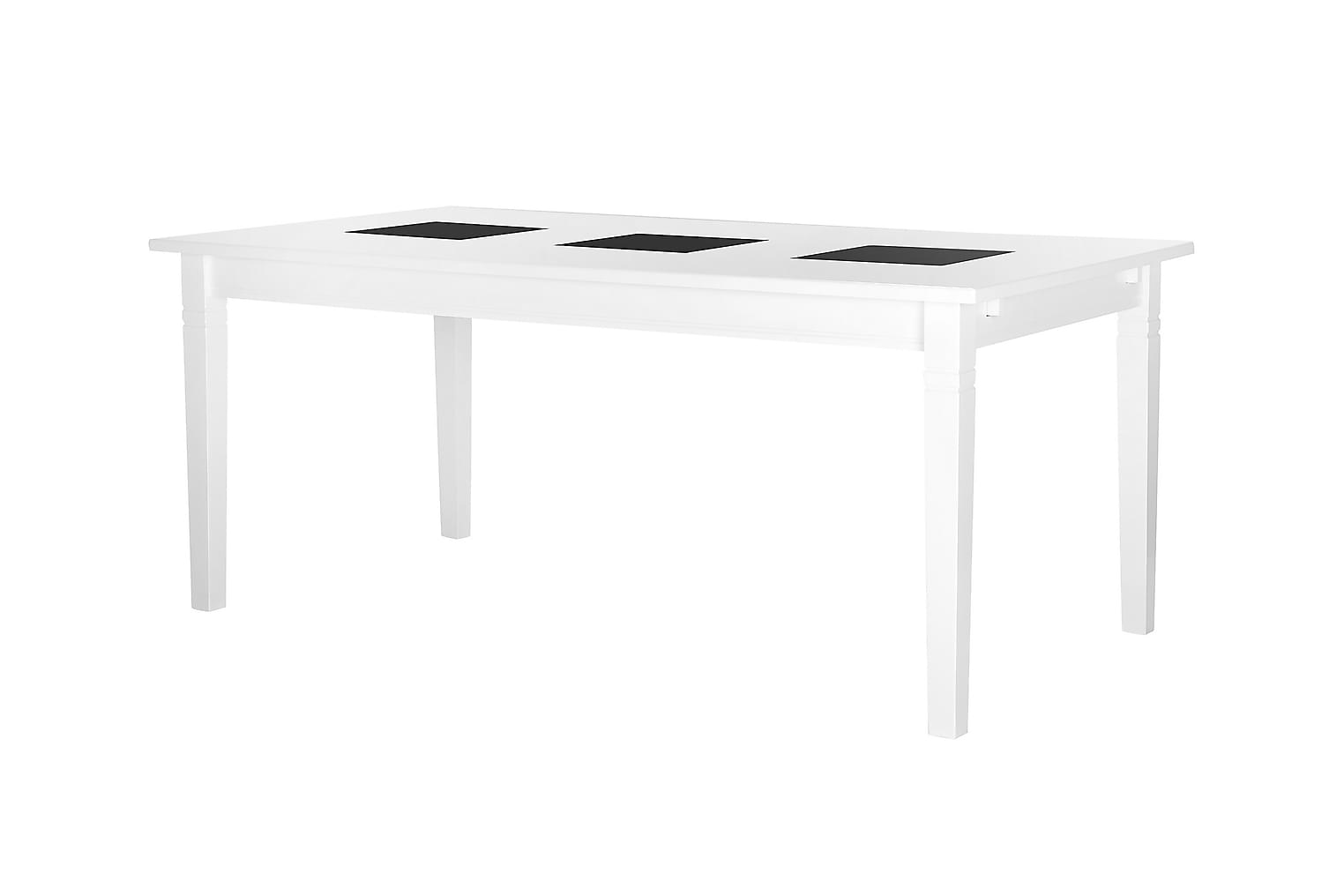 HALMSTAD pöytä 180 Valkea