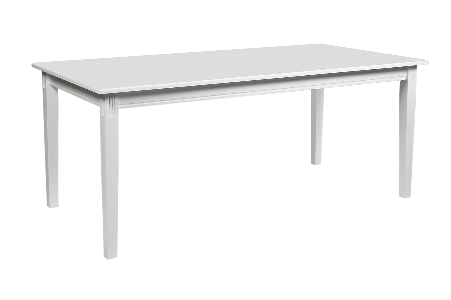 LEVATE Ruokapöytä 180 Valkoinen