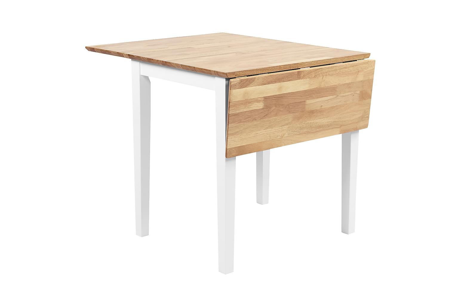 LILY Jatkettava Pöytä 62 Luonnonväri/Valkoinen