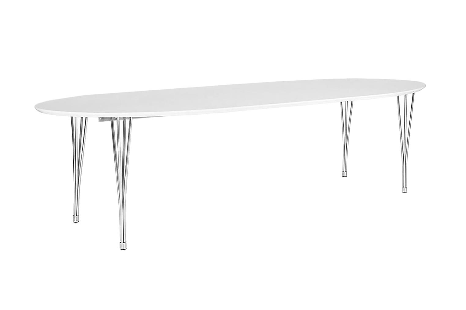 MENAT Jatkettava Pöytä 170 Valkoinen