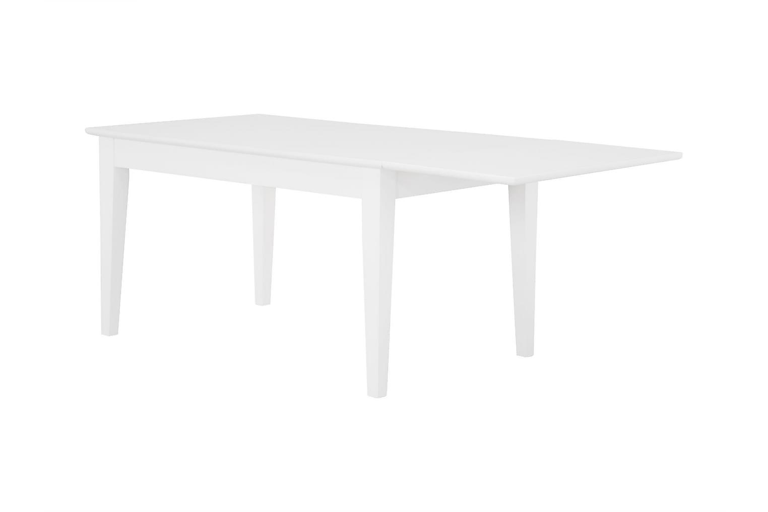 SABINA Pidennettävä pöytä 140 Valkoinen