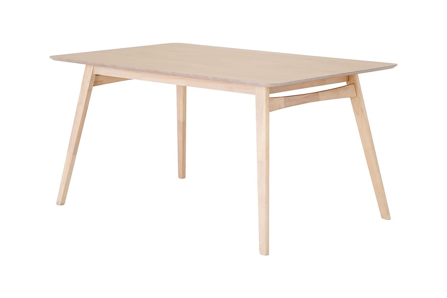 VANESSA Pöytä 150 Luonnonvärinen