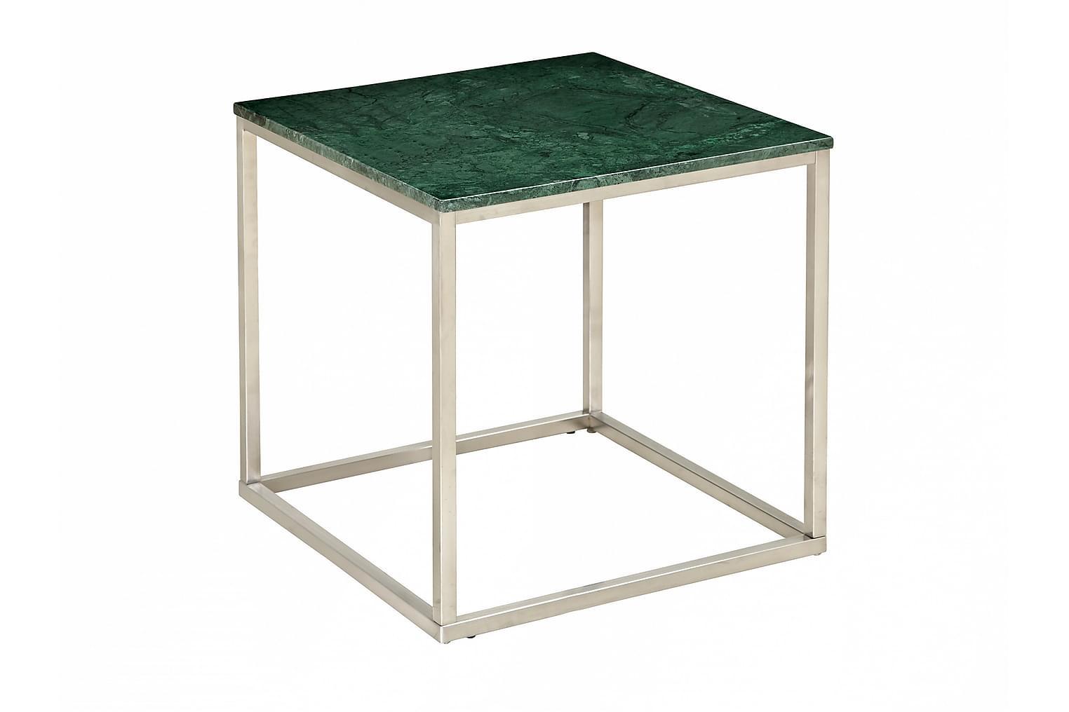CARRIE Sivupöytä 50 Teräs/Vihreä