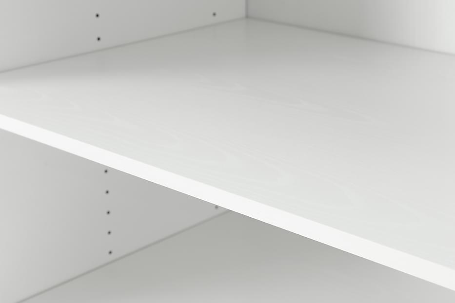 FLEX Hylly 2-Pakkaus 80 Valkoinen