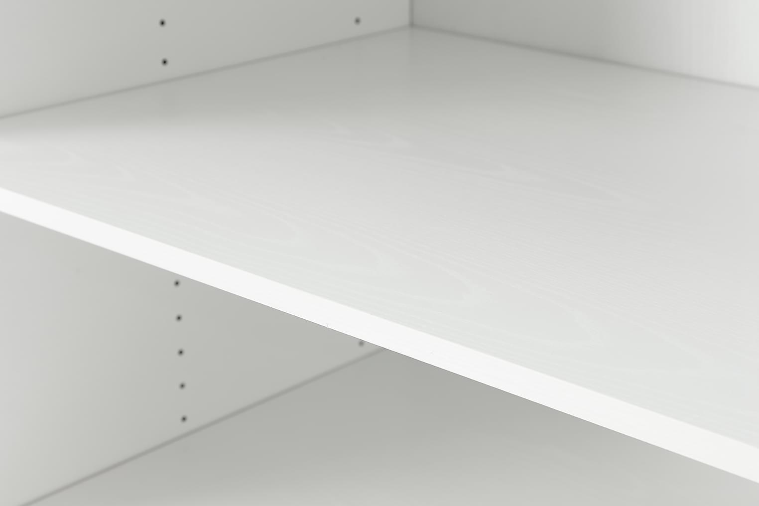 FLEX Hylly 4-pakkaus 80 Valkoinen