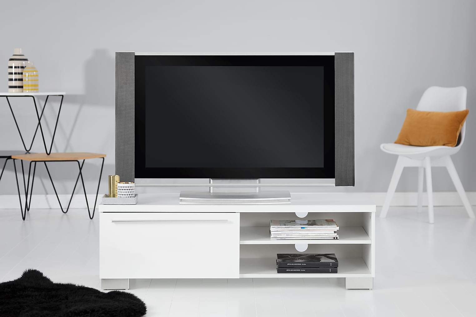GIBSON TV-Taso 120 Valkoinen