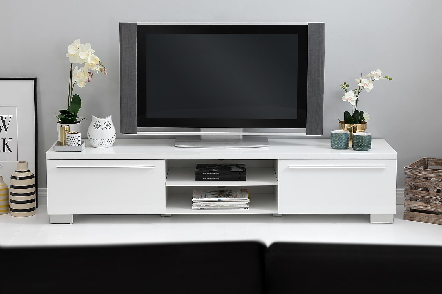 GIBSON TV-Taso 180 Valkoinen