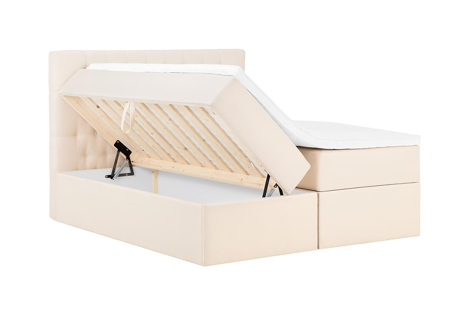 BOXBED Säilytyssänky 160 Beige