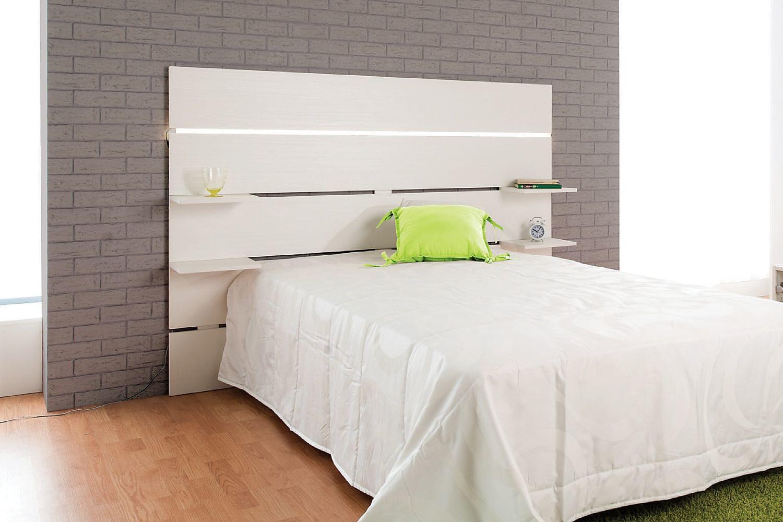 AMIR Sängynpääty 250 cm Valkoinen