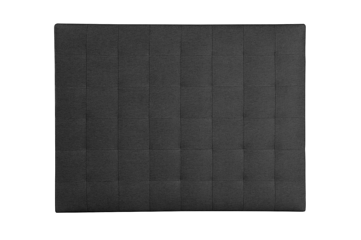 ECLIPSE Sängynpääty 160 Musta Farkku
