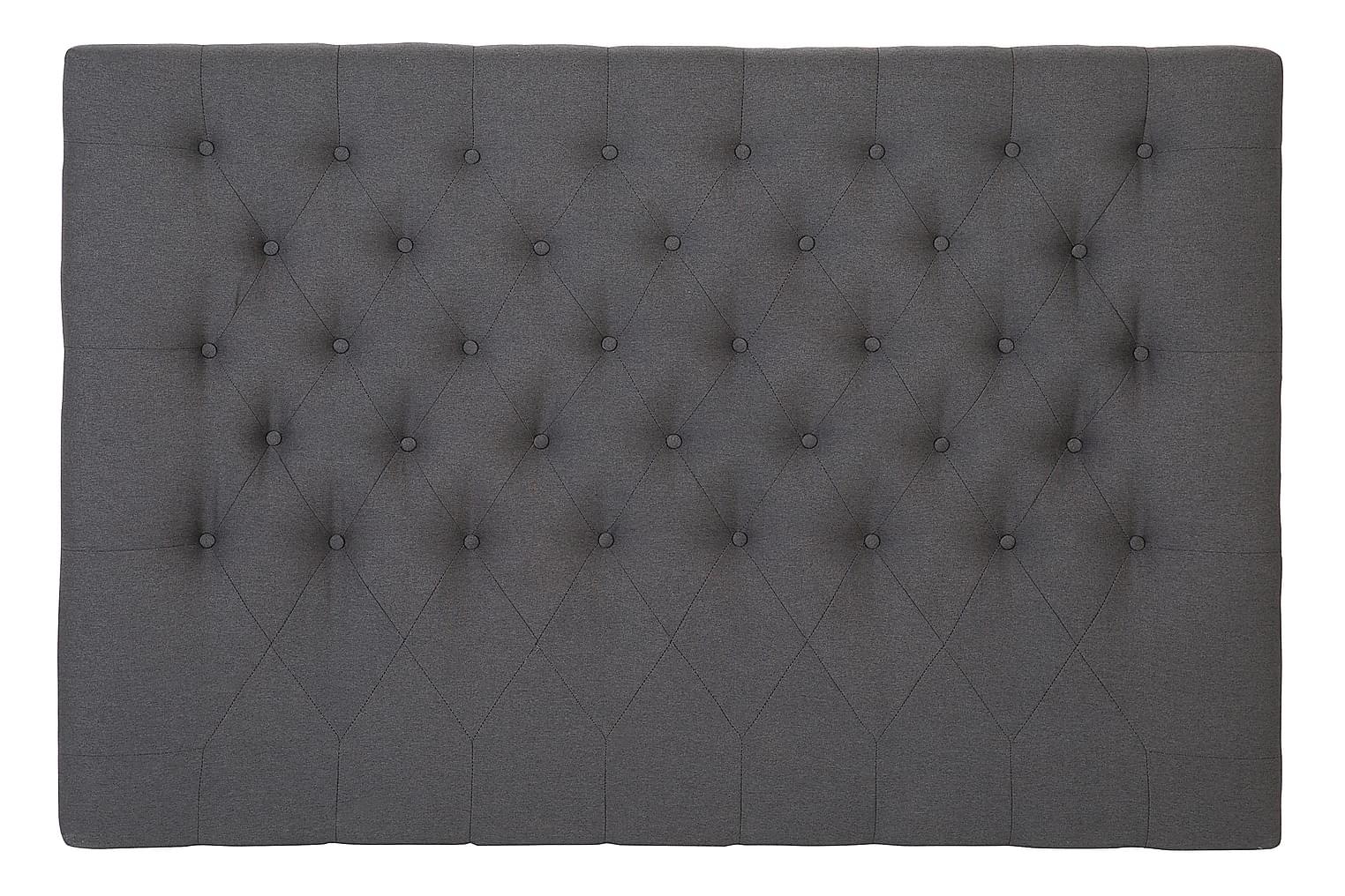 MONARK Comfort Sängynpääty 160 Tummanharmaa