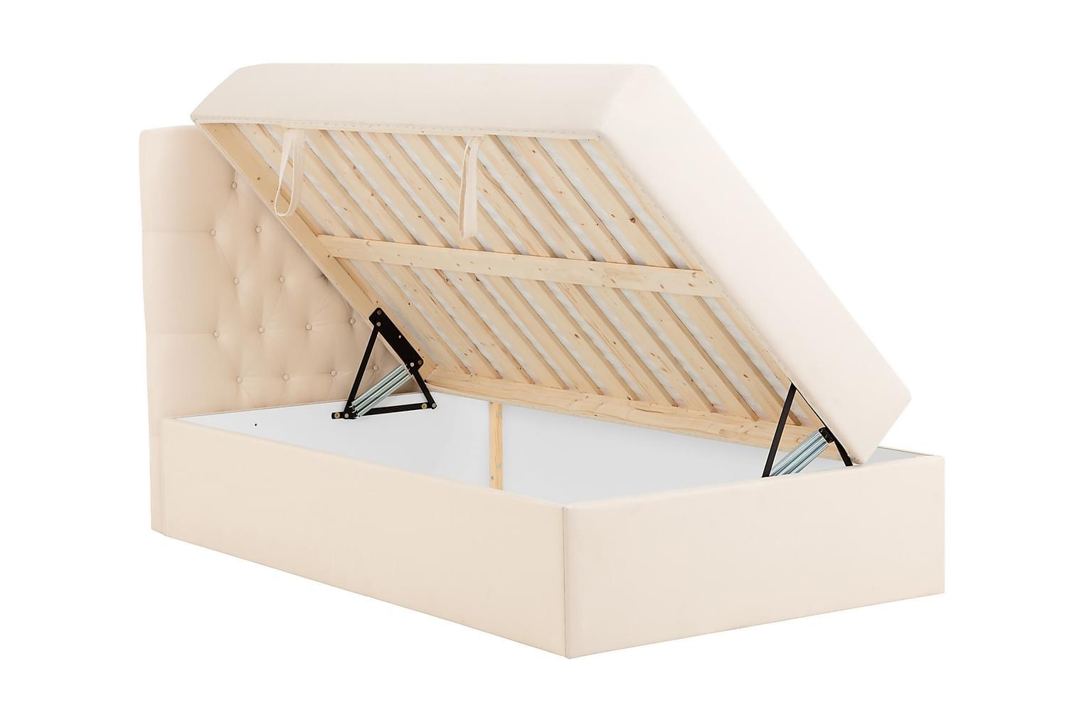 BOXBED Säilytyssänky 140 - Sänkypaketti Beige
