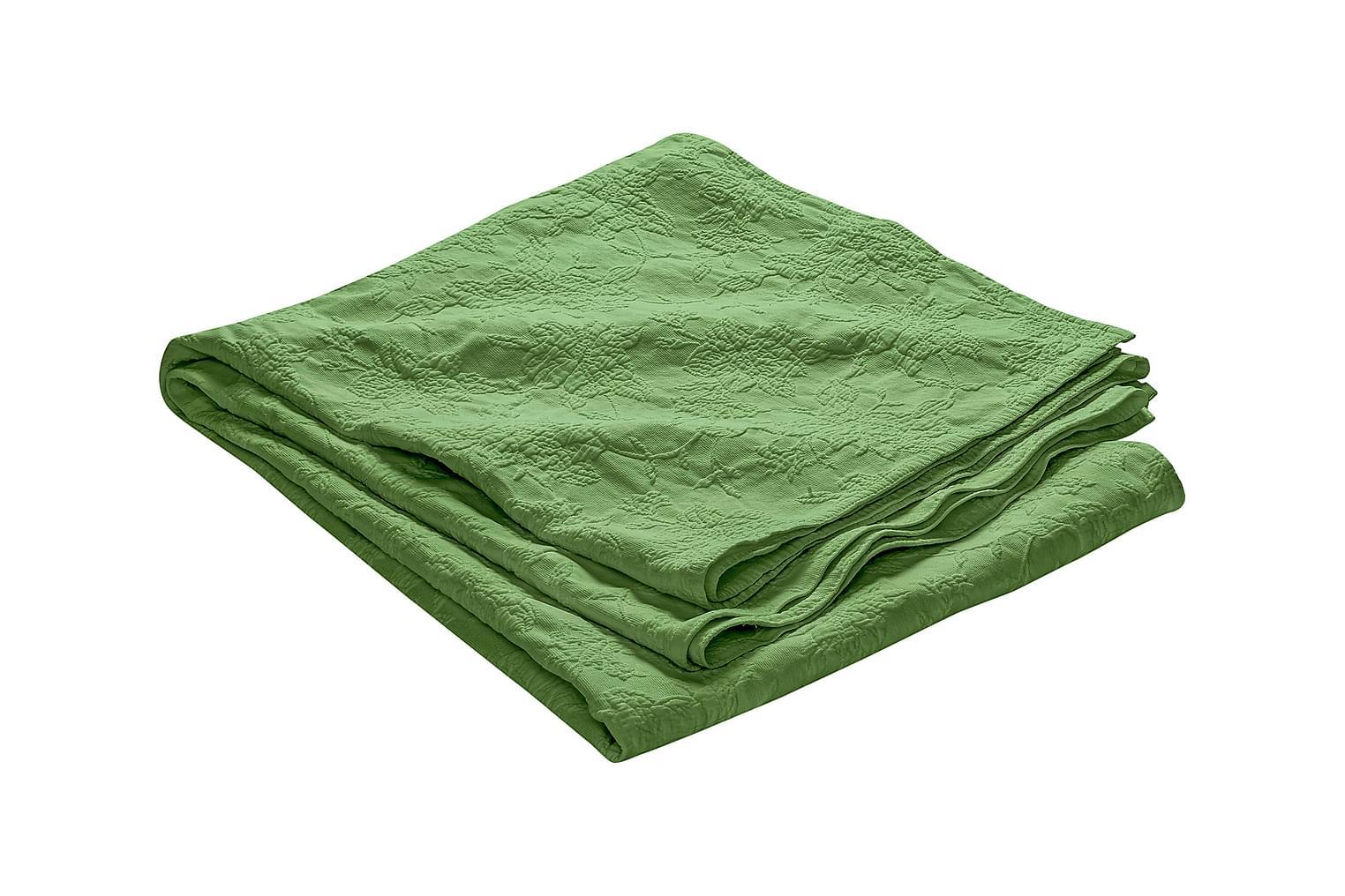 FIONA Päiväpeitto 180 Kuvioitu Vihreä