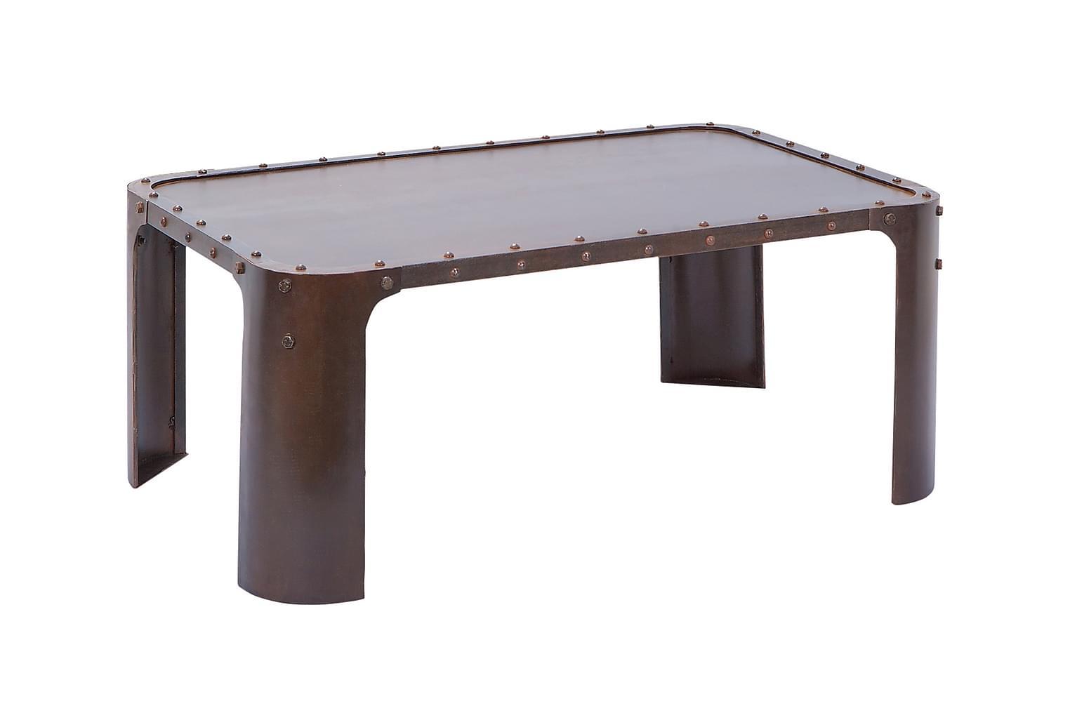 GORMUR Sohvapöytä 110 Ruoste