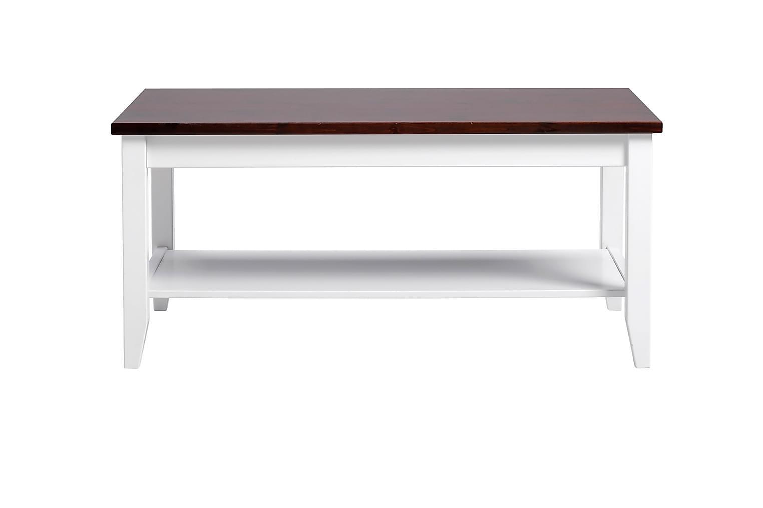 MATILDA Sohvapöytä 110 Valkoinen