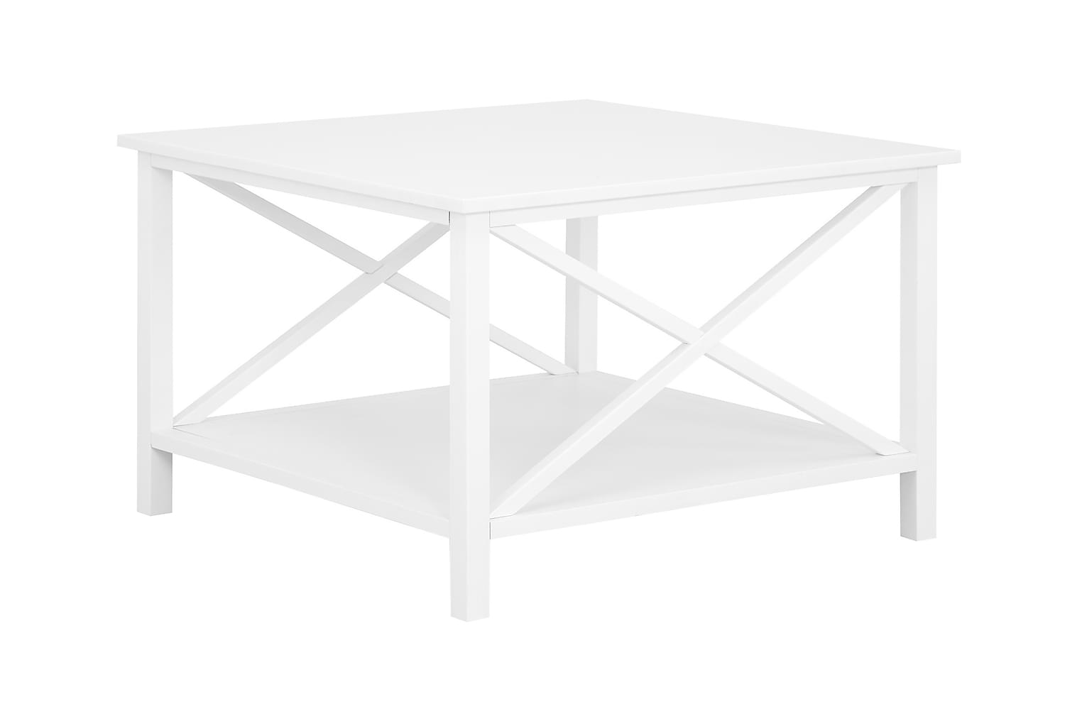 MICHELLE Sohvapöytä 80 Valkoinen