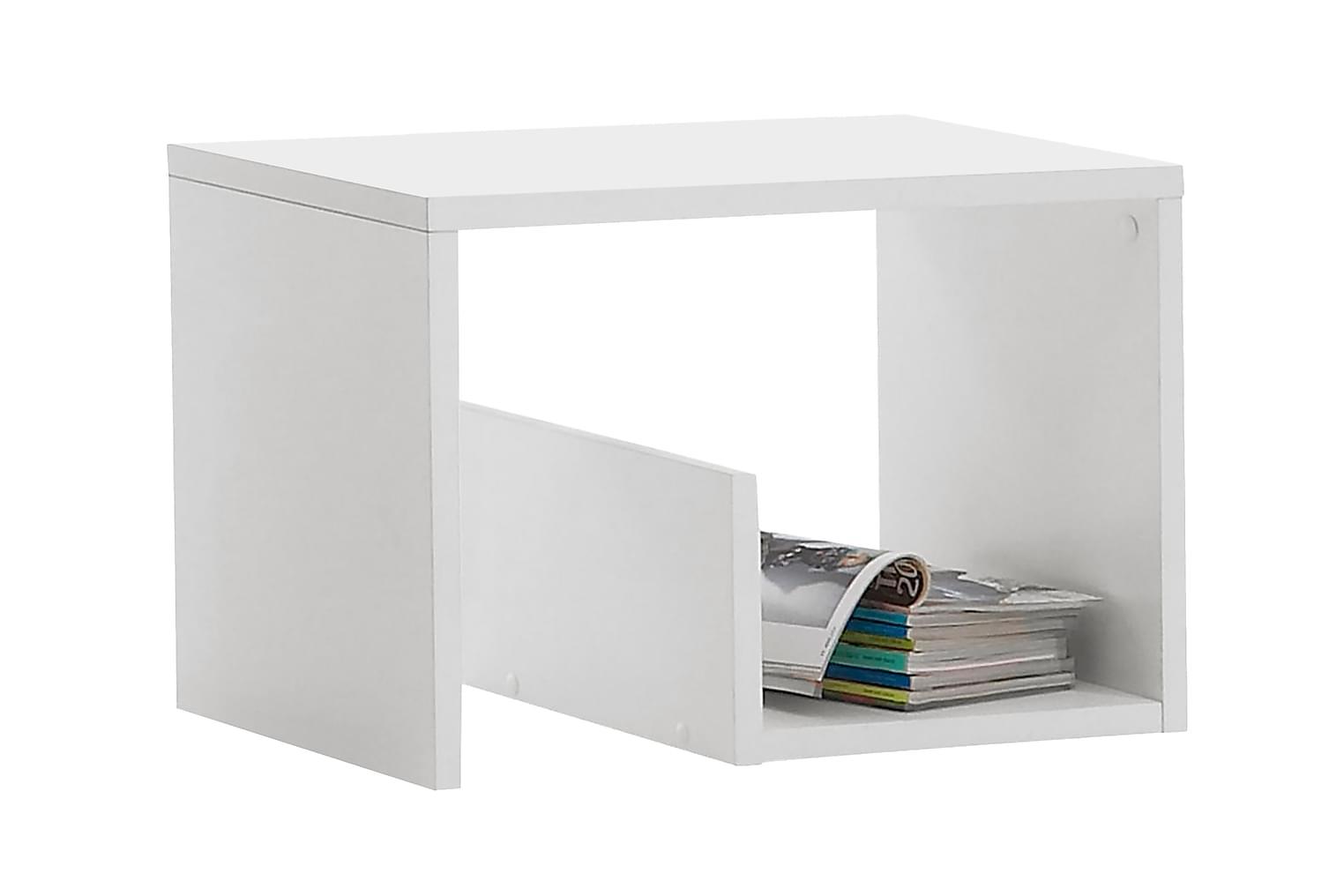 MIKEL Sohvapöytä 59 Valkoinen