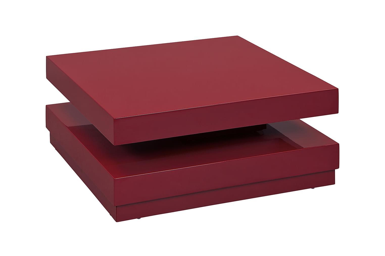 MODUS Sohvapöytä 75 Punainen
