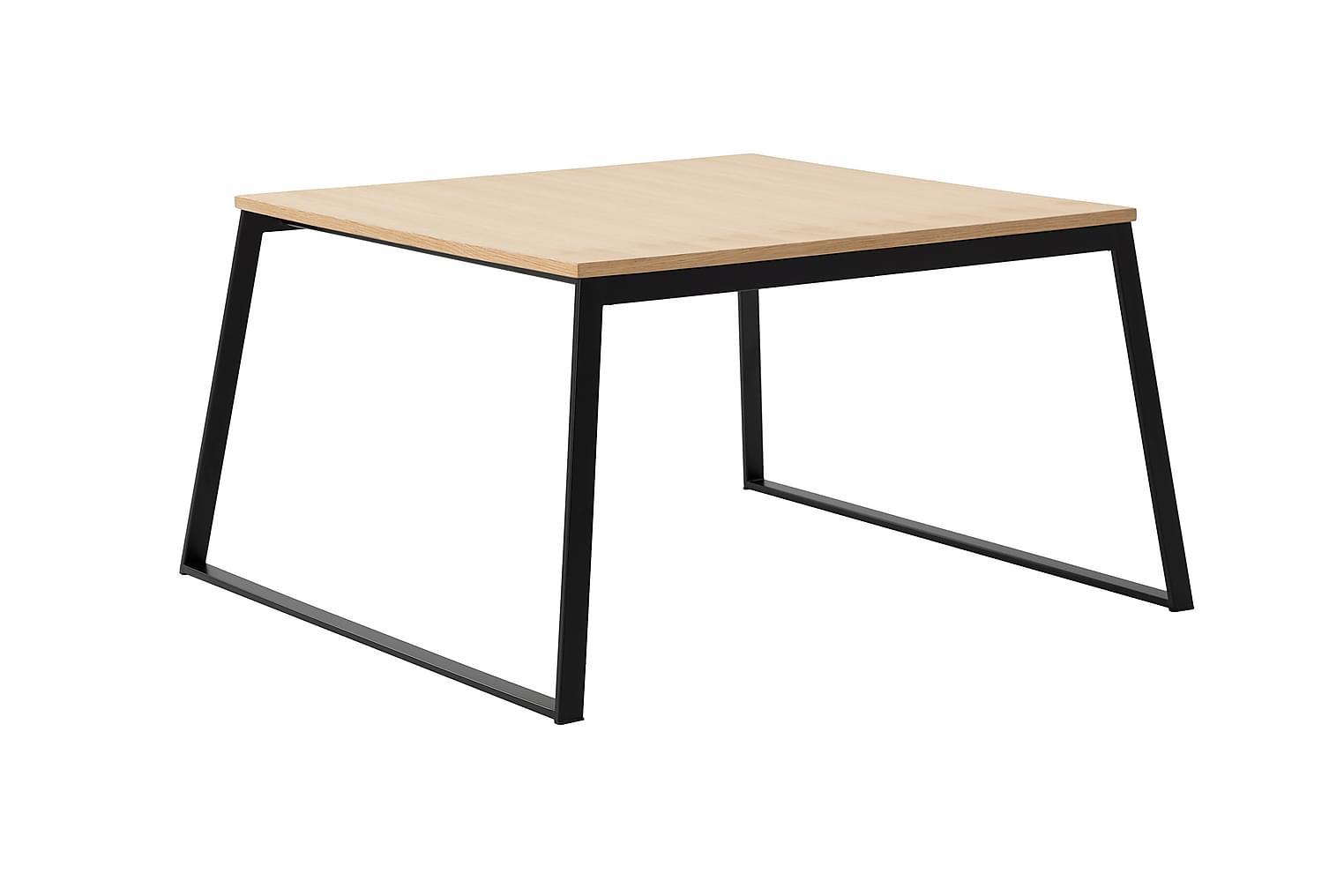NATIVE Sohvapöytä 85 Musta/Tammi