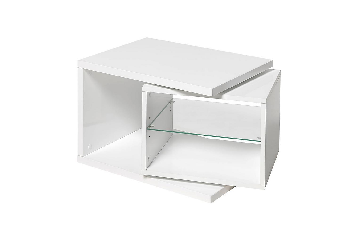 NORBERT Sohvapöytä 65 Matta Valkoinen
