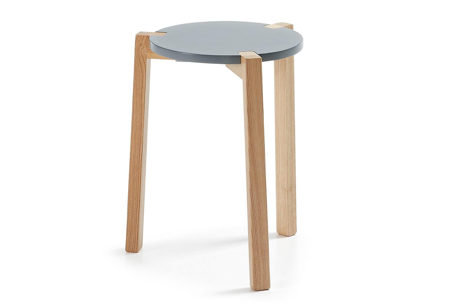 PALMI Sohvapöytä35 Harmaa/Luonnonväri