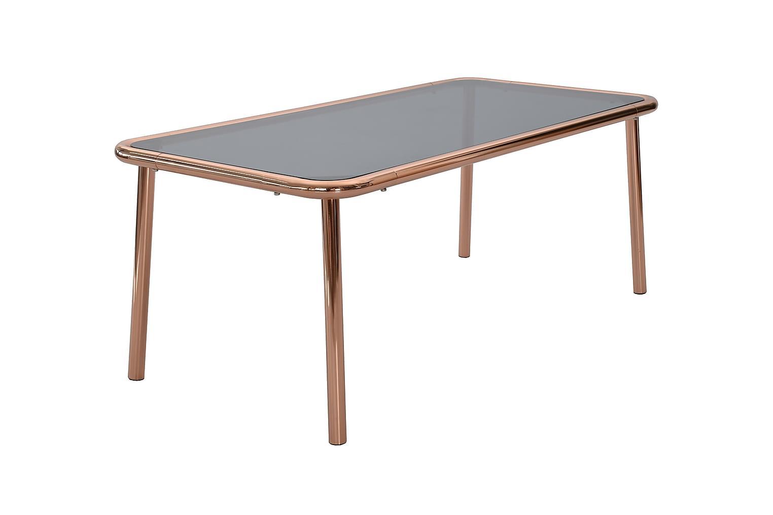 BASE Sohvapöytä120 Kupari/lasi