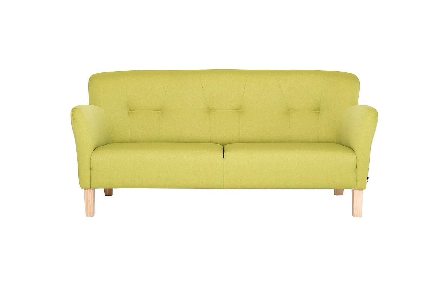 CARLOS 3-istuttava Sohva Limenvihreä