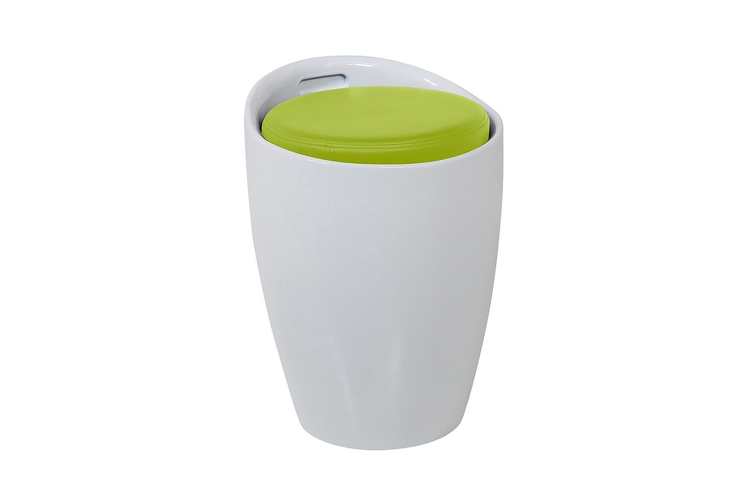 HILLMAN Istuinrahi Valkoinen/Lime