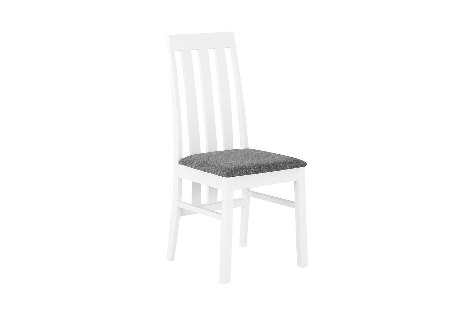 BORGHOLM Tuoli Valkoinen/Harmaa