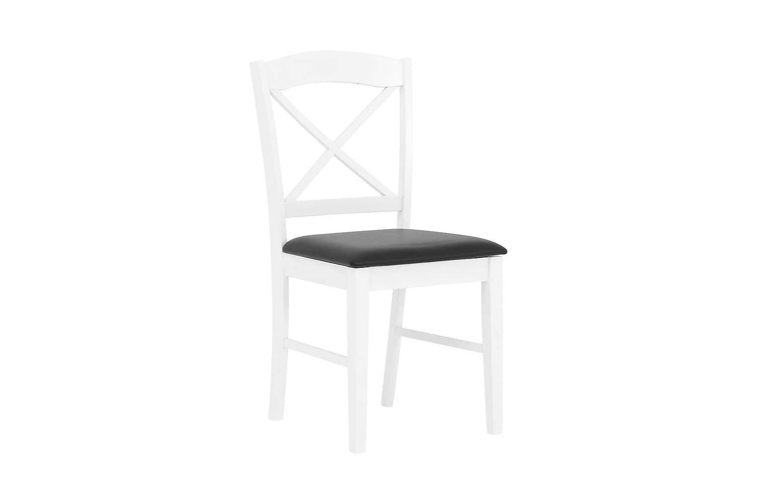 BRÖMSEBO Tuoli Valkoinen/Musta