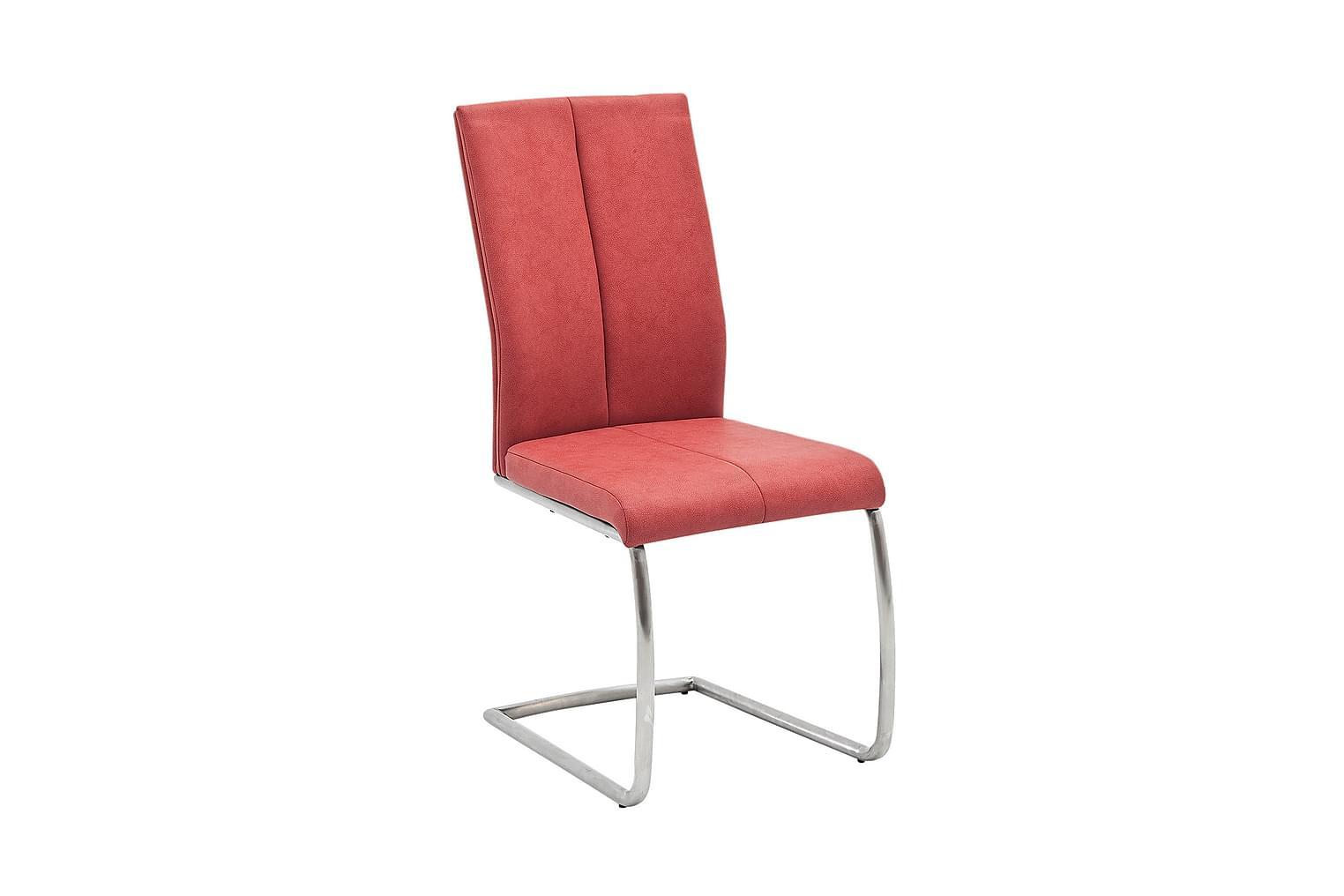 FLORENTIN Tuolin jalusta D/Punainen