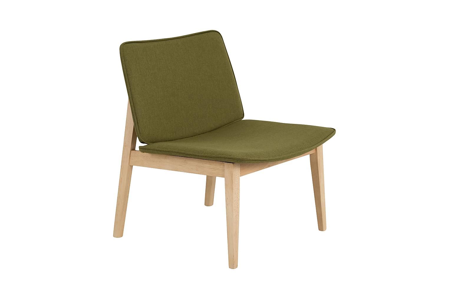 GLORIA Tuoli Luonnonvärinen/Vihreä